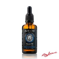 Azbane Moroccan Argan Beard Oil - Clove & Sage 50ml