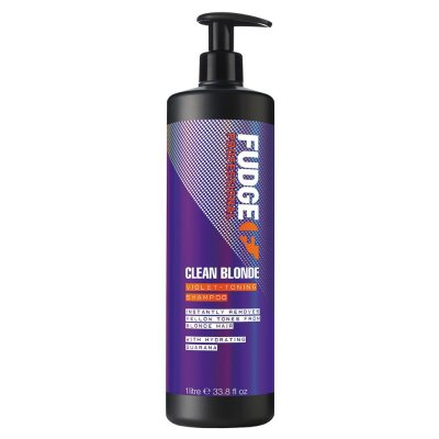 Fudge Clean Blonde Violet Toning Shampoo 1000ml