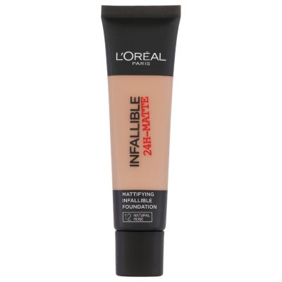 L'Oreal Infallible 24H Matte Foundation 12 Natural Rose 35ml