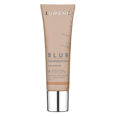 Lumene Longwear Blur Foundation Warm Beige SPF15 30ml
