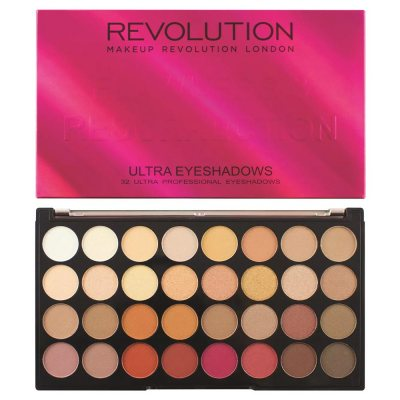 Makeup Revolution Ultra 32 Shade Eyeshadow Palette Flawless 3 Resurrection