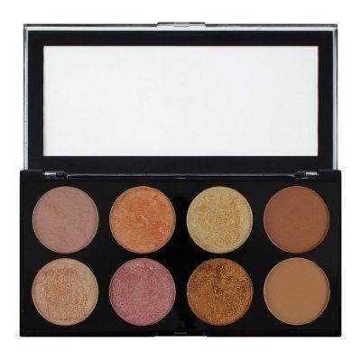 Makeup Revolution Ultra Blush Palette Golden Sugar 2 Rose Gold