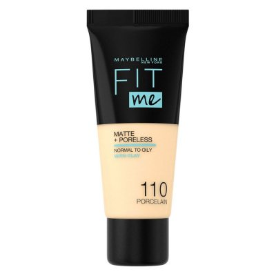 Maybelline Fit Me Matte + Poreless Foundation 110 Porcelain