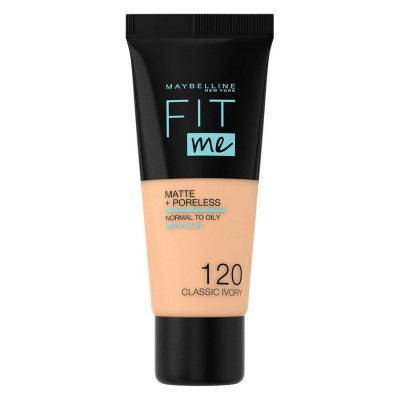 Maybelline Fit Me Matte + Poreless Foundation 120 Classic Ivory