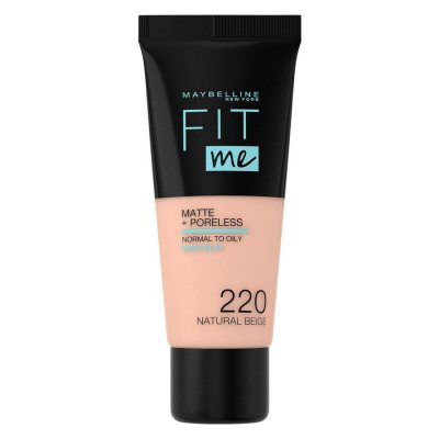 Maybelline Fit Me Matte + Poreless Foundation 220 Natural Beige
