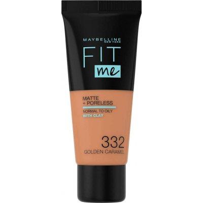 Maybelline Fit Me Matte + Poreless Foundation 332 Golden Caramel