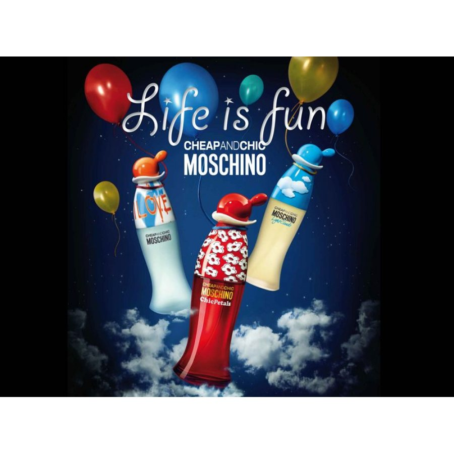 Moschino Cheap And Chic I Love Love edt 100ml - £33.61 - SwedishFace ♥ Skin  Care