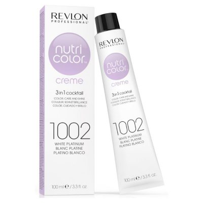 Revlon Nutri Color Creme 1002 White Platinum 100ml
