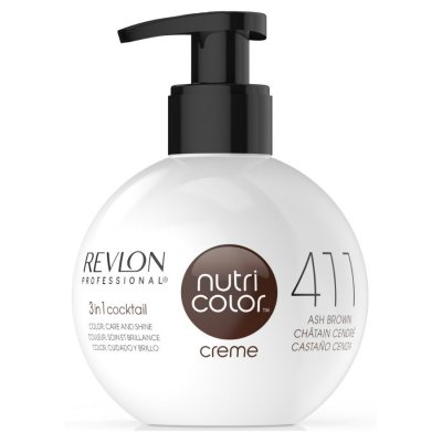 Revlon Nutri Color Creme 411 Ash Brown 270ml